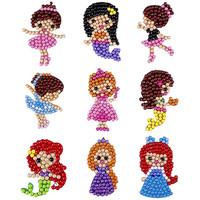 Diamond Painting Sticker Ballet DIY Mainan Anak