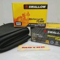 BAN DALAM DALEM SWALOW SWALLOW SEPEDA MOTOR UKURAN 350-400-17 RING 17