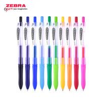 Zebra Gel Pen Kokoro Colour - 0.5 mm ( 10 Color / Warna )