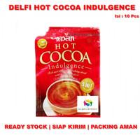 Delfi Hot Cocoa Indulgence isi 10 sachet | Minuman Bubuk Cokelat