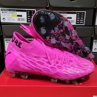 Sepatu Bola Puma Future 5.1 Netfit Shock Pink