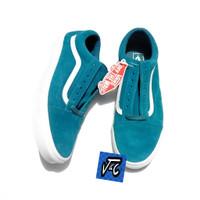 Sepatu Vans Old Skool Soft Suede Sapphire Blue Murah