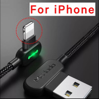 MCDODO cable for iphone apple X 8 7 6 6s 5 fast charging 1.2 m