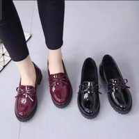 Docmart loafers woman BTS-Sepatu Loafers Wanita