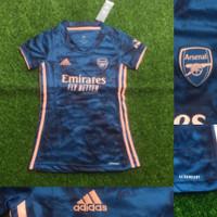Jersey Kaos Baju Bola Wanita Cewek Ladies Arsenal 3rd 2020/2021 GO