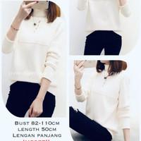 Baju atasan sweater blouse knit blouse import kyona gooq quality