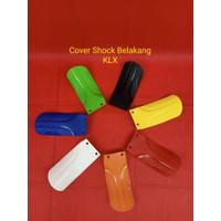 Cover shock belakang klx - Putih