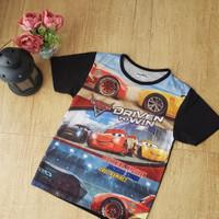 t shirt anak / baju anak / atasan anak / cars disney / mc queen