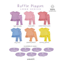 ARDENLEON Ruffle Playset Long SET.SS.07