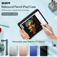 Original ESR Rebound Pencil Case iPad Pro 11 2020 / 12.9 2018 - Cover - Blue, iPad Pro 12.9