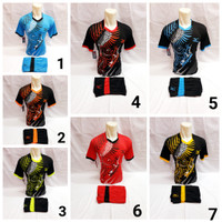 baju olahraga kaos setelan futsal dan sepakbola spec batik