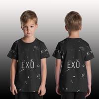 T Shirt/Kaos Anak Pria/Wanita/kaos Custom EXO art 2