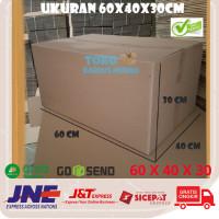 Kardus Polos Box Besar Kotak Packing Karton Dus Bok Tebal 60 x 40 x 30