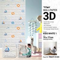 [CSG.ID] Wallpaper 3D TITAN Kids 70X77 Motif BATA.