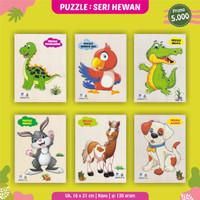 Puzzle Kayu Murah Mainan Edukasi Anak Obral 5.000 Puzzle Hewan Lucu 1