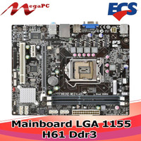 Motherboard LGA 1155 H61 Ddr Ecs
