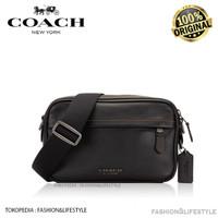 Coach Graham Leather Crossbody Bag Black Full Leather Original 100%