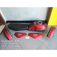 Setbody Vixion Old New model XSR 155 tutup tangki ninja jok model XSR