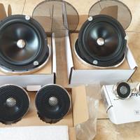 Speaker Hi-end tingkat dewa 3 way DEV AUDIBLE PHYSICS Brg New NOS toko