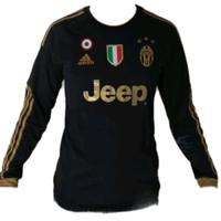 Jersey Juventus / Kaos Olahraga / Baju Bola / Juventus lengan panjang