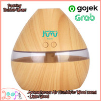 Air Humidifier Aroma Therapy Night Light 300ml - Light Wood
