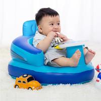 Kursi Duduk Bayi / Sofa Tiup Bayi Untuk Belajar Duduk dan Makan