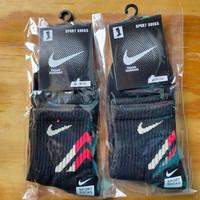 kaos kaki nike sport badminton sock atletik pendek atas mata kaki.