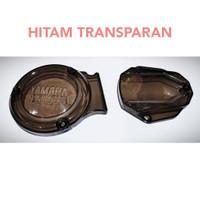 Cover Mesin Motor Yamaha RX King / Tutup Blok Mesin RX King Kopling - Hitam