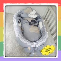 Kasur Bayi Free Bantal Bayi Anti Peyang - Babynest Perahu