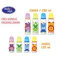 BABY SAFE Bottle susu Baby 125 ml BPA Free - Botol Susu Bayi K
