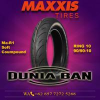 BAN VESPA RING 10 MAXXIS MA-R1 UK 90/90-10 TUBLESS