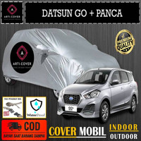Selimut Sarung Body Cover Mobil Datsun Go Plus Panca Free pengikat ban