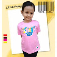 Kaos Anak Perempuan   LITTLE PONY   Baju Anak - Pink, M