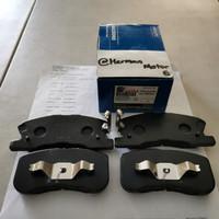 Kampas Rem depan brake Pad Akebono Ayla 1.2cc/ 1.0 matic Datsun Go Go+