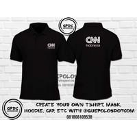 Poloshirt CNN Indonesia - Kaos Polo CNN Indonesia - Kaos ANTV - Polo