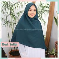 Nuna Jumbo Hijab Segi Empat Instan Jumbo Bahan Diamond Crepe Premium