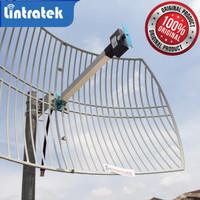 Antena Penguat Sinyal 2G 3G 4G GRID PARABOLIC High Gain LINTRATEK ORI