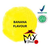 BANANA FLAVOUR POWDER 50GR - PURE BANANA FLAVOR - PERISA PISANG BUBUK