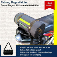 Tas Mantel Tabung Jas Hujan Mantol Bagasi Motor Box Size Standar