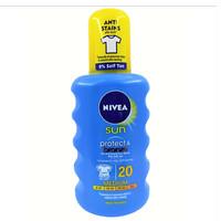 Nivea Sun Spray Protect & Bronze SPF 20 sunblock suncreen body lotion