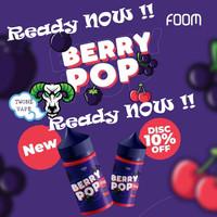 Liquid Foom Berry Pop | Foom BerryPop 100% Authentic By Foom