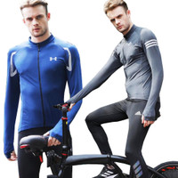 Baju Sepeda PREMIUM Cycling Manset Sports Compression Body Fit DRI FIT