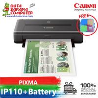 CANON IP110 WITH BATTERY PRINTER PORTABLE MURAH