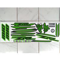 stiker striping motor ALL mio sporty variasi zr hijau