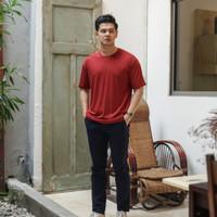 T-shirt (Kaos Polos Merah) - Merah, S