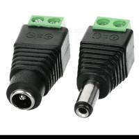 SINTE Jack DC CCTV (SET) MALE FEMALE Konektor Soket Baut Adapter Kabel