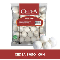 Cedea Baso Ikan Sedang isi 35pcs 500gr