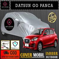 Selimut Sarung Body Cover Mobil Datsun Go Panca Free pengikat ban