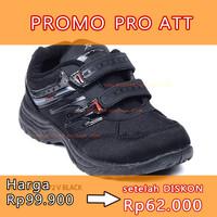 no 33 PRO ATT OR 772 V BLACK sepatu sekolah anak sneaker
