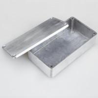 XFDZ Kotak Casing Aluminium Metal Stomp untuk Pedal Efek Gitar - 1590B